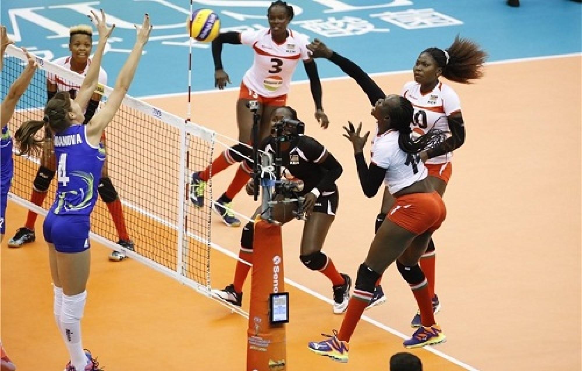 Волейболдан әлем чемпионаты: Қазақстан Кениядан ұтылды